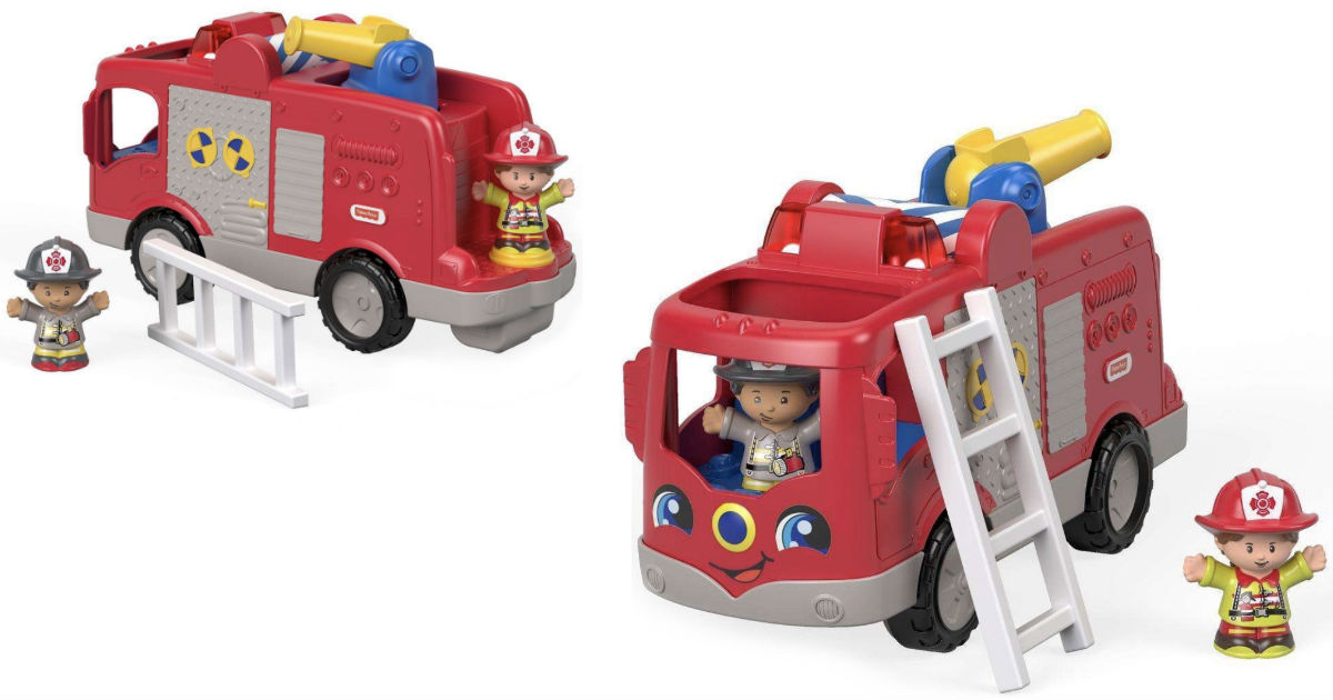 Little People Helping Others Fire Truck ONLY $7.99 at Walmart