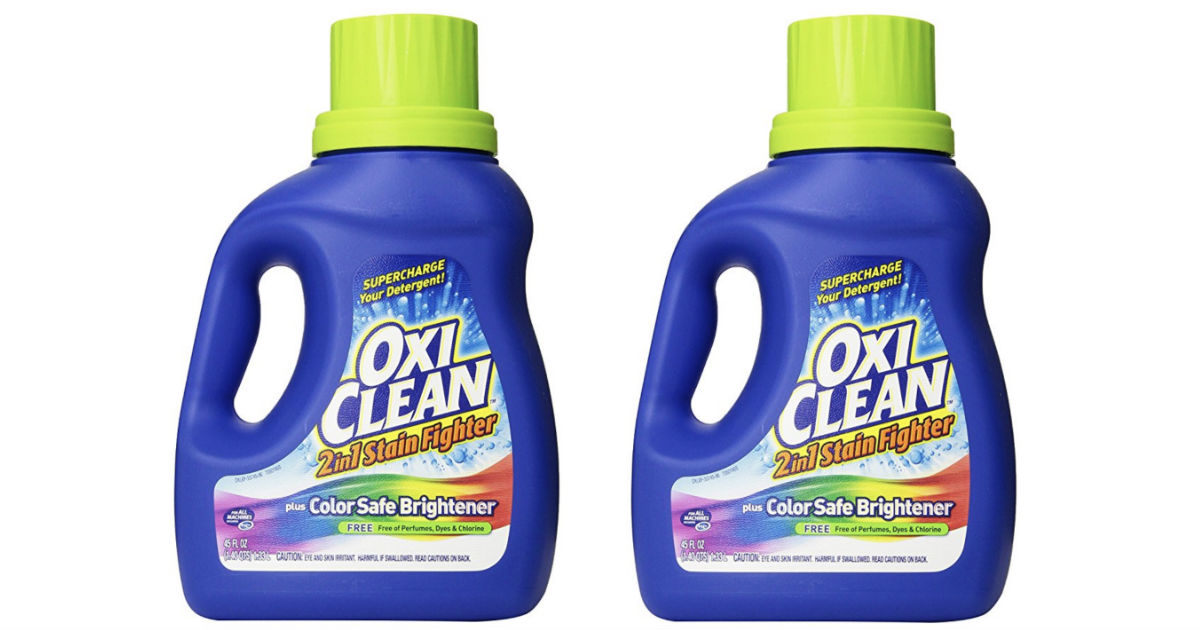 OxiClean 2-in-1 Stain Fighter ONLY $ 4.49 Shipped at Amazon