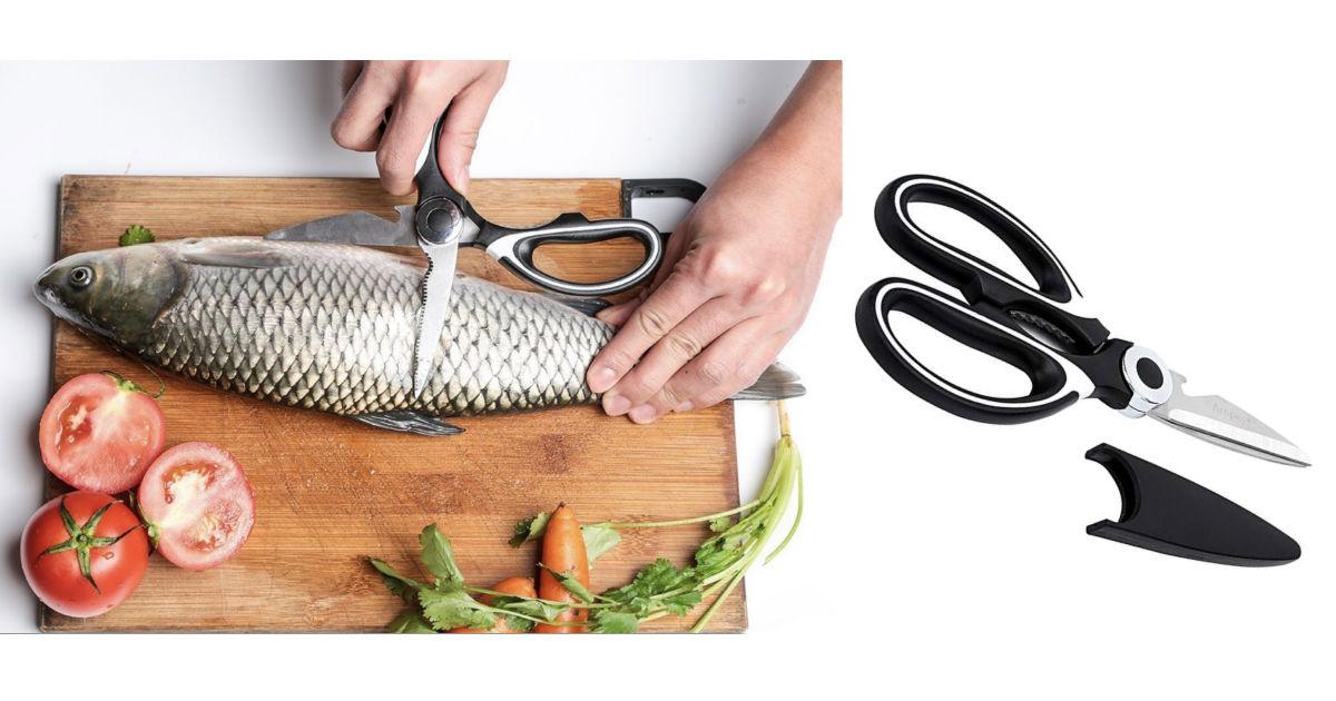 Aropey Ultra Sharp Premium Heavy Duty Kitchen Shears ONLY $3.99 at Amazon