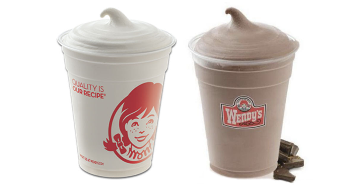 Wendy's Small Frosty