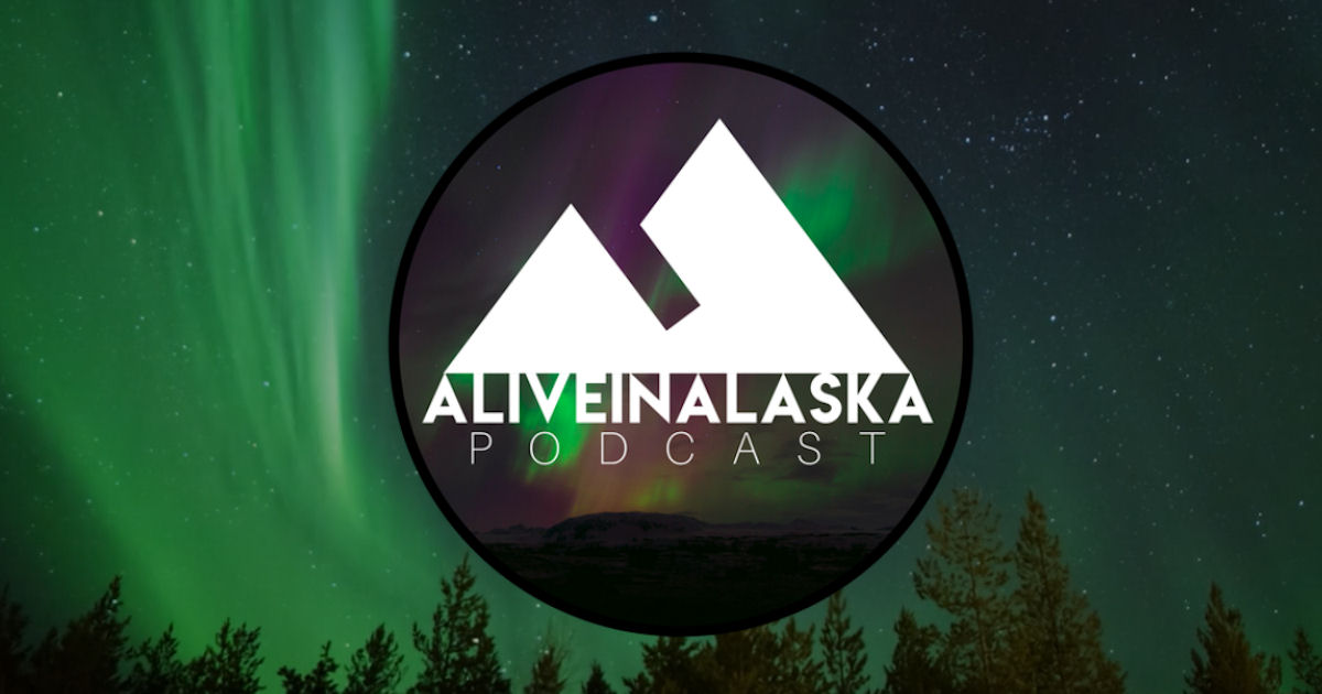 FREE Alive In Alaska Stickers.