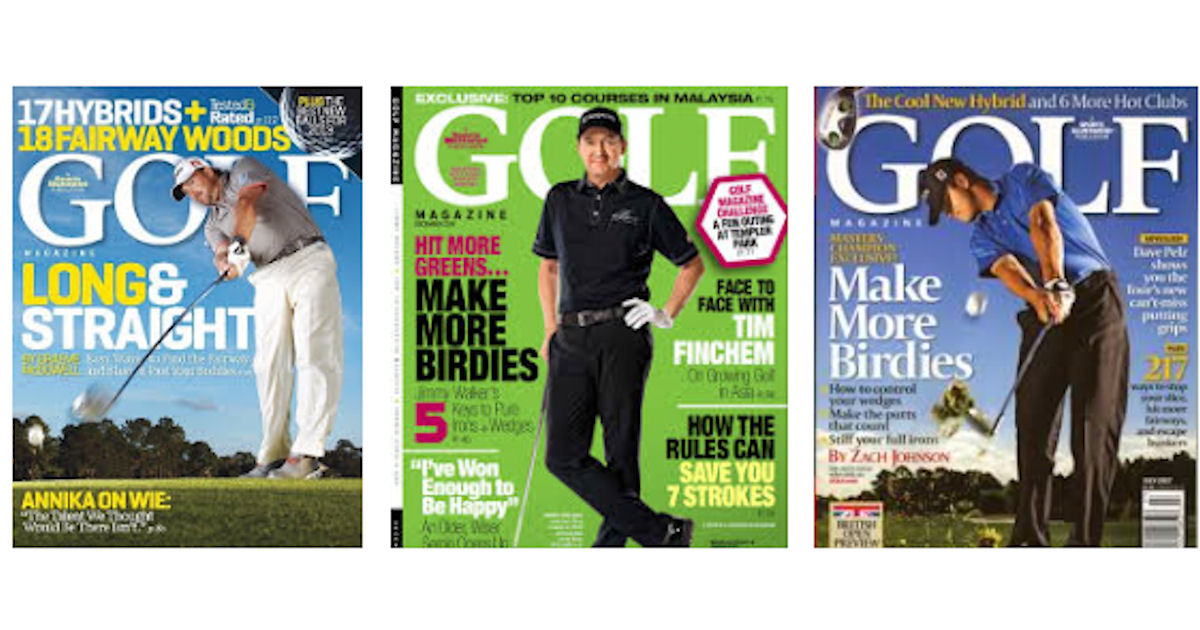 Free Subscription To Golf Magazine