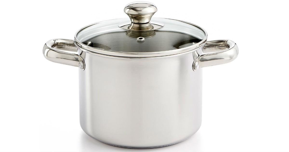 Tools of the Trade 3-Qt. Soup Pot ONLY $6.99 (reg $25) at Macy's