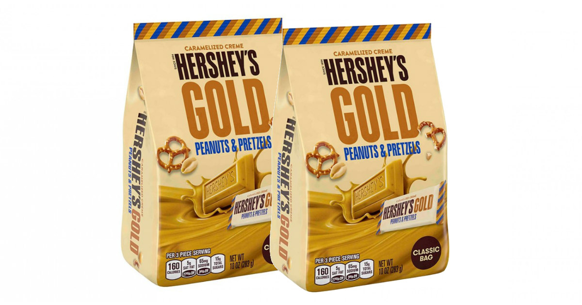 hersheys gold miniatures bag only  0 49 at cvs starting 9  2