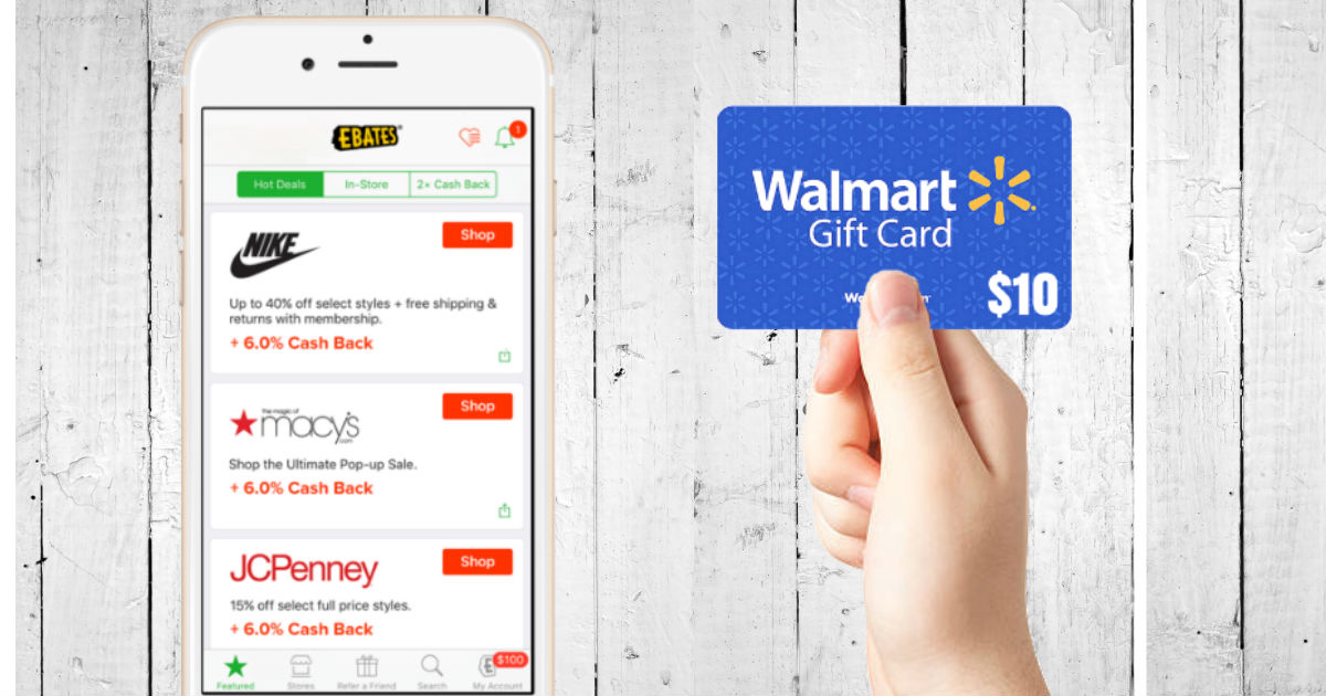 FREE $10 Gift Card and DOUBLE Cash Back for Memorial Day Weekend