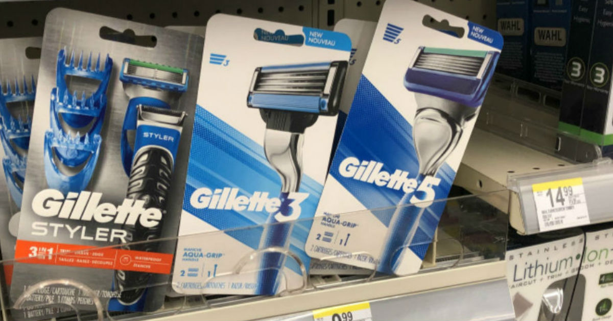 Gillette Razor G3 or G5 at Walgreens