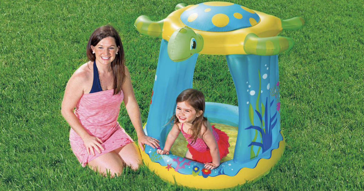 Walmart.com: Turtle Inflatable Play Pool ONLY $5