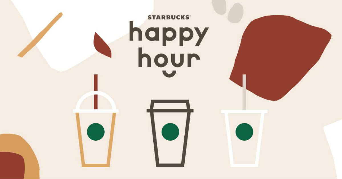 Starbucks Happy Hour Espresso Drinks