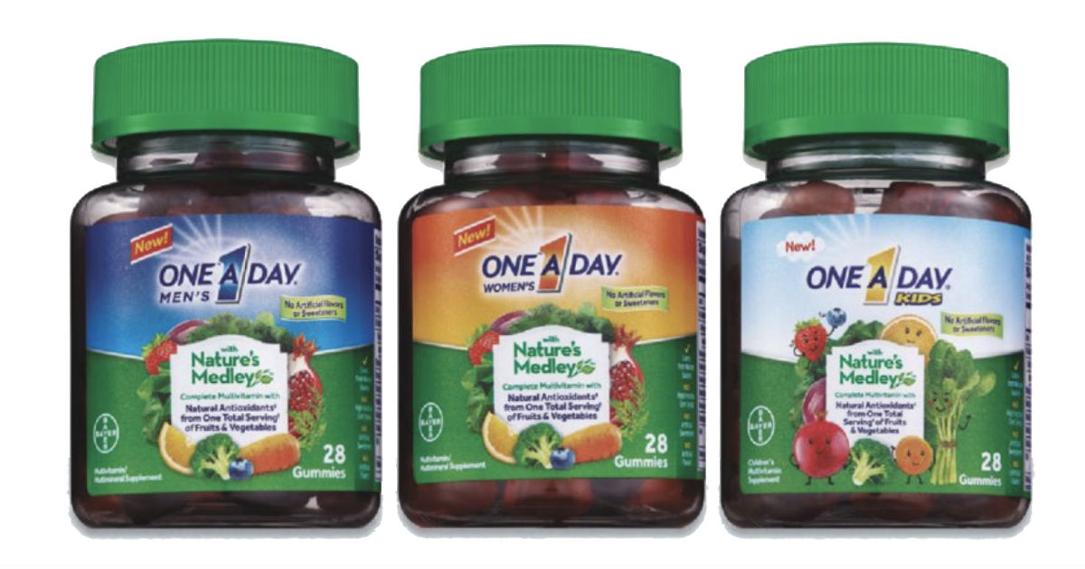 FREE One A Day Nature's Medley Vitamins at CVS - Starting 9/9