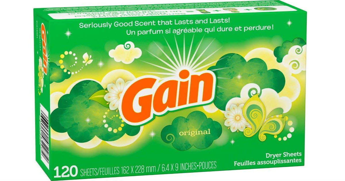 Gain Dryer Sheets on Amazon