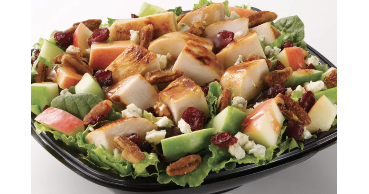 photo about Wendy's Printable Coupons identify Totally free Harvest Rooster Salad with ANY Order at Wendys