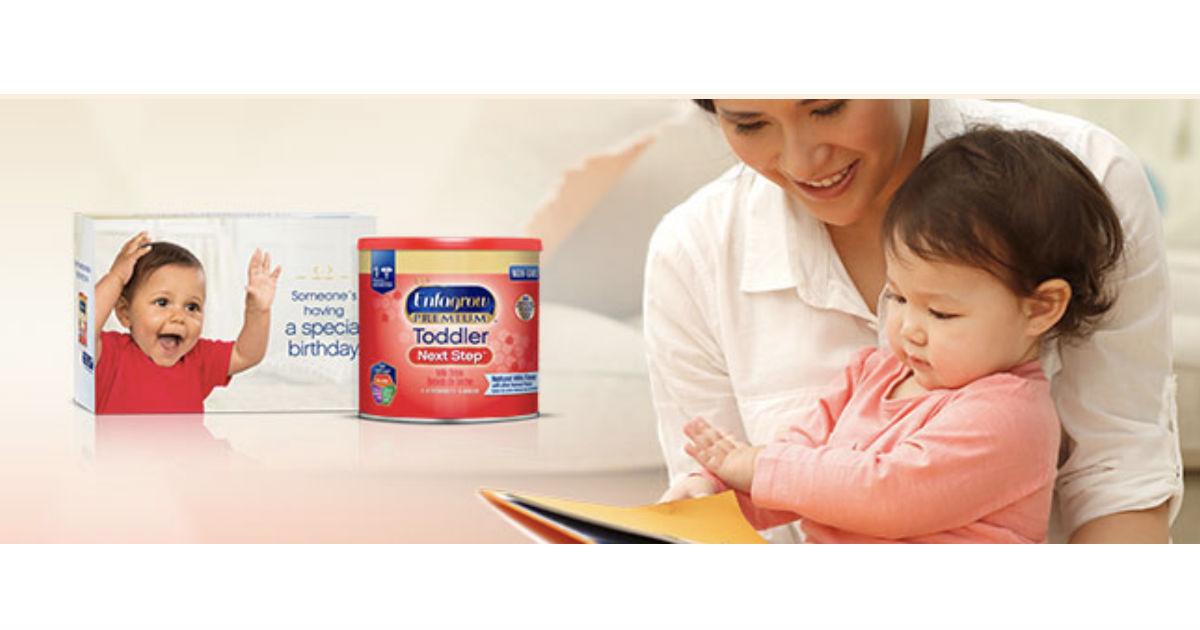 Enfagrow Toddler Next Step Sample