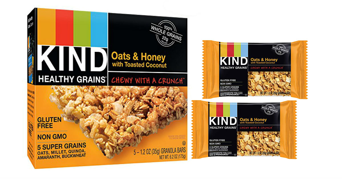 KIND Healthy Grains Bars (Pack of 3) ONLY $7.96 at Amazon