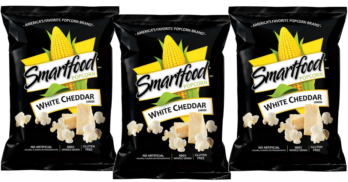 Smartfood White Cheddar Popcorn 40-Pack ONLY $9.05 at Amazon