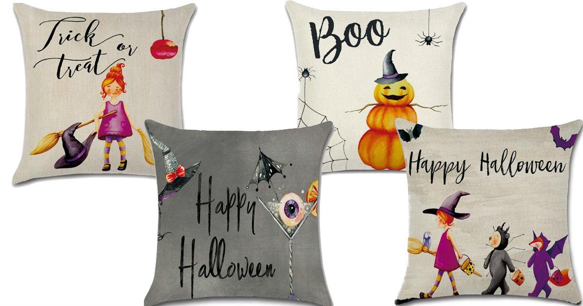 cheap halloween pillow covers