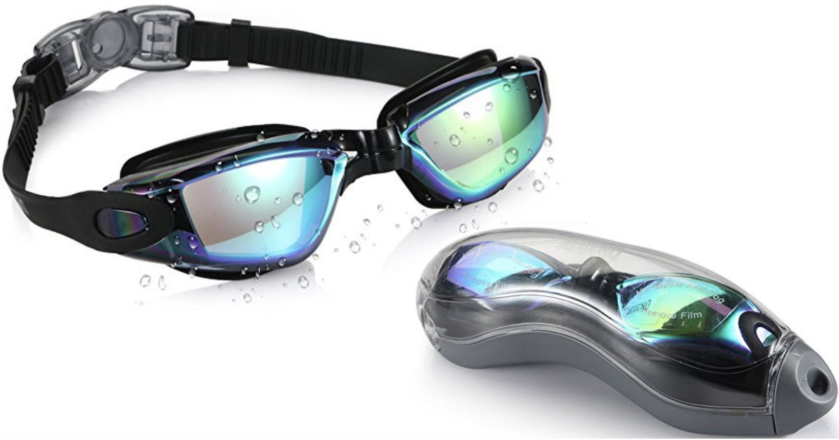 Aegend Swim Goggles ONLY $8.96 (reg $21.99) at Amazon