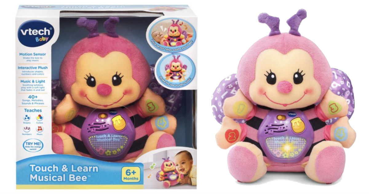 VTech Touch & Learn Musical Bee ONLY $12.38 (reg $34) at Walmart