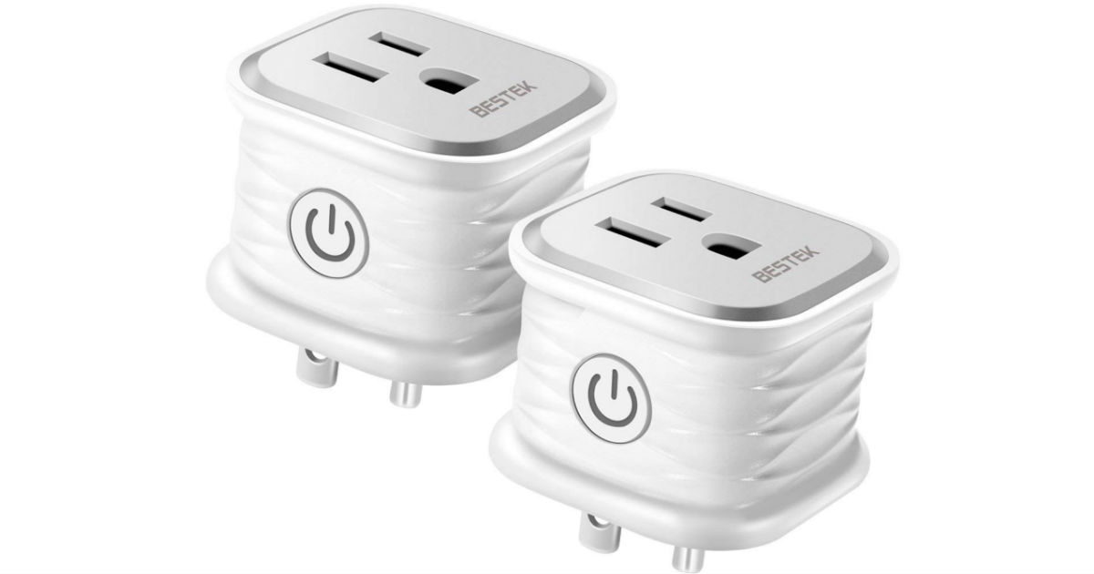 BESTEK WiFi Smart Plugs 10AMP 1250W ONLY $9.99at Amazon