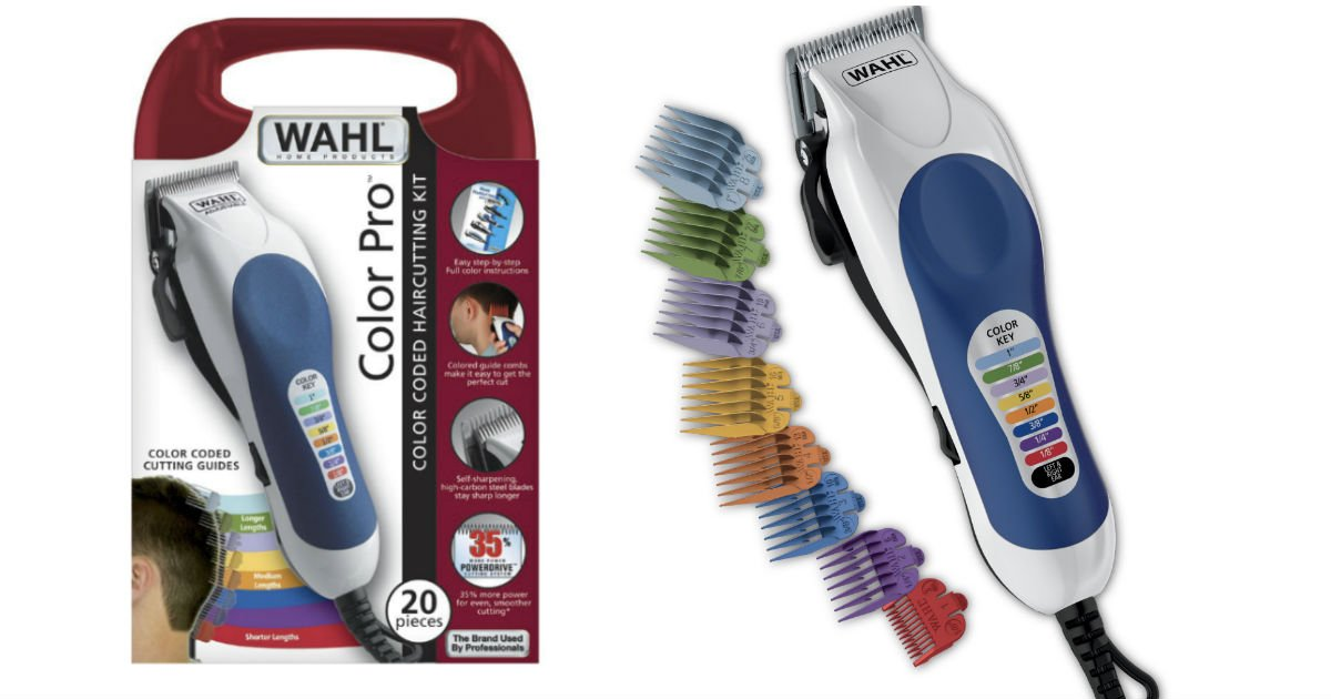 Wahl Color Pro Hair Clipper Kit