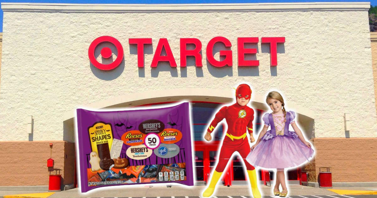 40% off target halloween costumes and candy