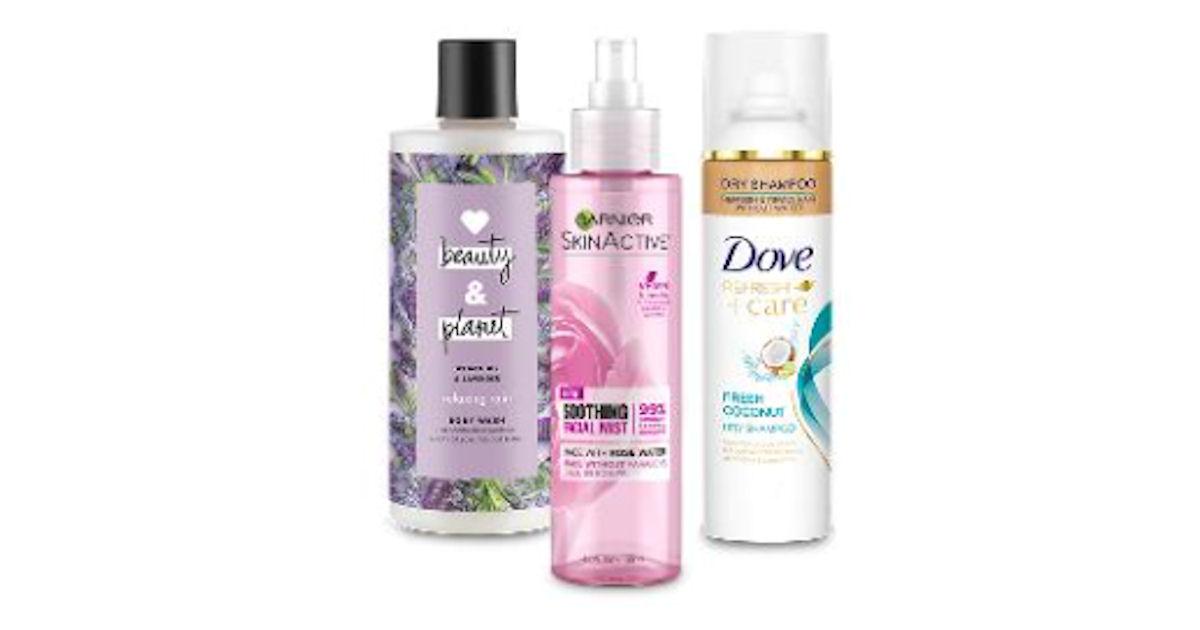 Free Fall Beauty Product Sample Kit