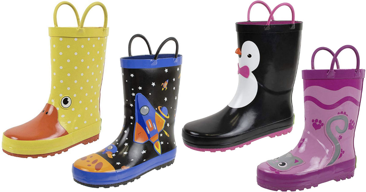 Rainbow Daze Rain Boots for Kids ONLY $16.49 (reg $30) at Amazon