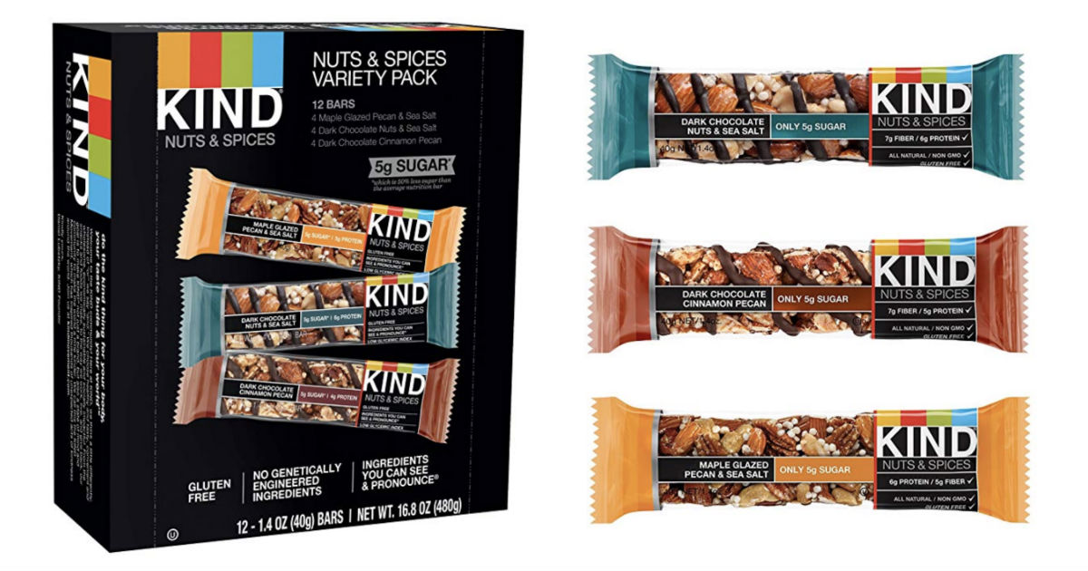 Kind Bars ONLY $0.82 per bar on Amazon + Free Shipping