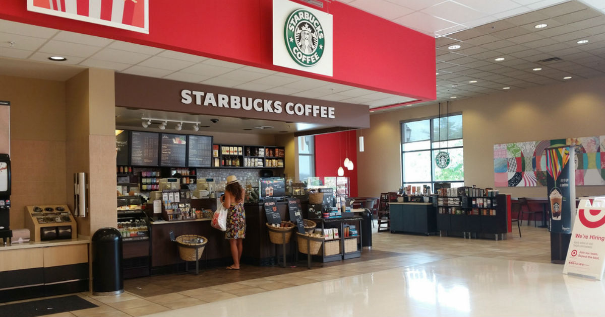 20% Off Starbucks at Target Stores