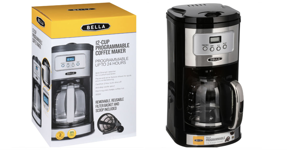Bella 12-Cup Coffee Maker ONLY...