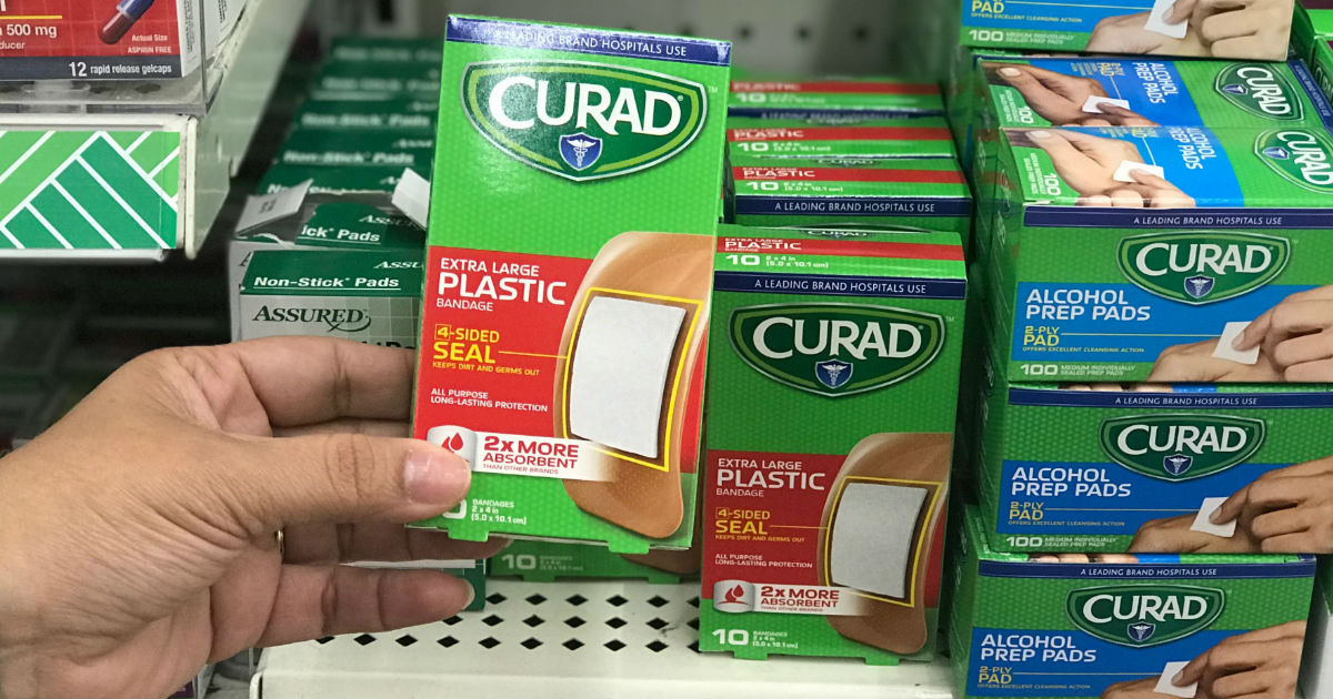 Curad Plastic Bandage at Dollar Tree