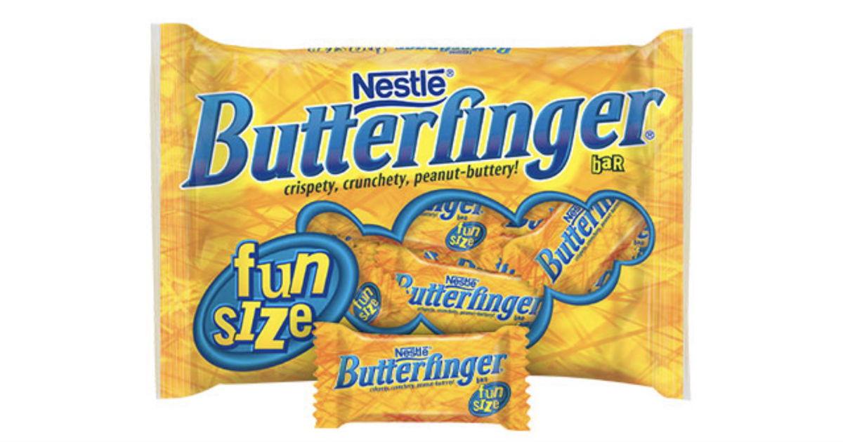 Butterfinger Snack-Size at Walgreens