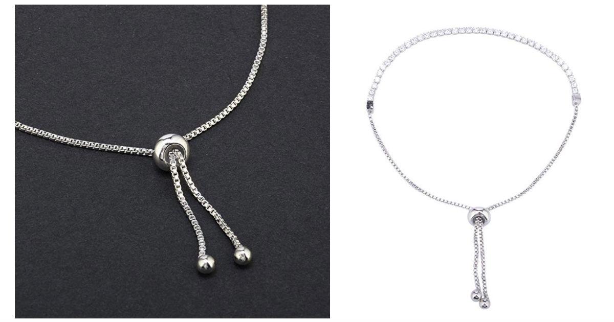 JSPOYOU Rhinestone Gold Plated Bracelet ONLY $2.98 Shipped
