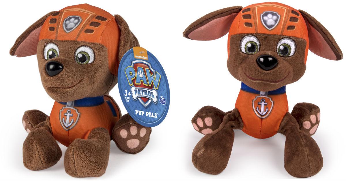 Paw Patrol Pup Pals Zuma Plush Toy ONLY $4.99 at Walmart