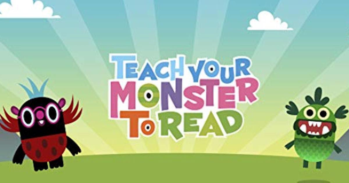 FREE Teach Your Monster to Rea...