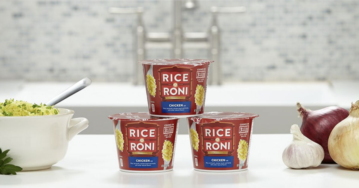 Rice a Roni Cups 12-Pack ONLY $9.03 Shipped