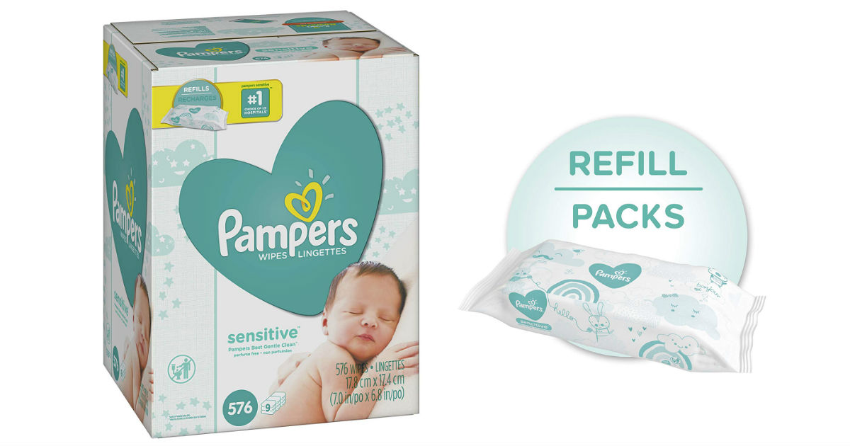Pampers Sensitive Baby Wipes R...