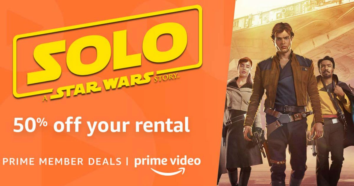 50% Off Solo: A Star Wars Stor...