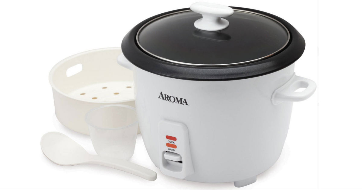 Aroma 14-Cup Rice Cooker ONLY $12.99 at Walmart