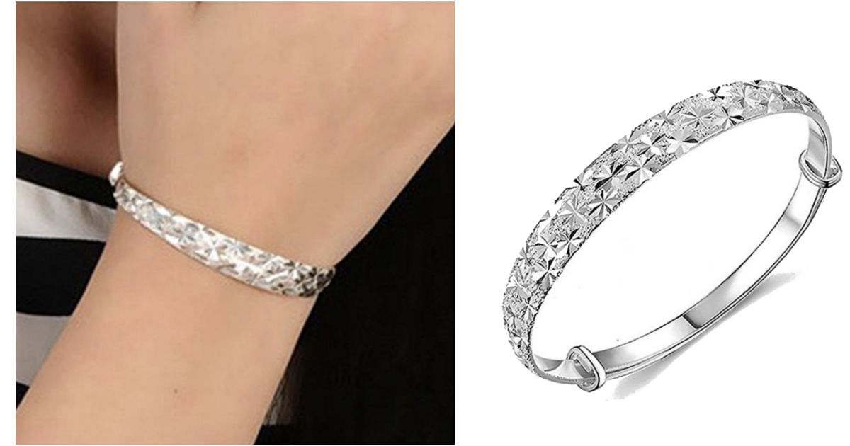 Botrong Charm Bangle Bracelet.