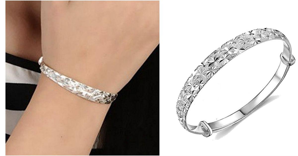Botrong Charm Bangle Bracelet ONLY $3 Shipped