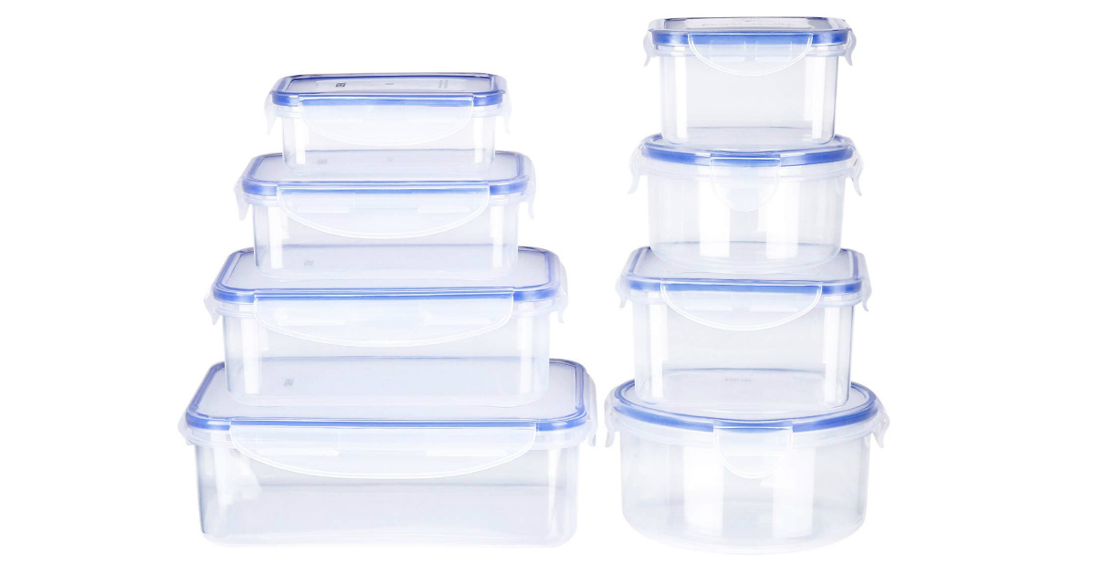 Save 63% on Deik Food Storage Containers ONLY $21.99 Shipped