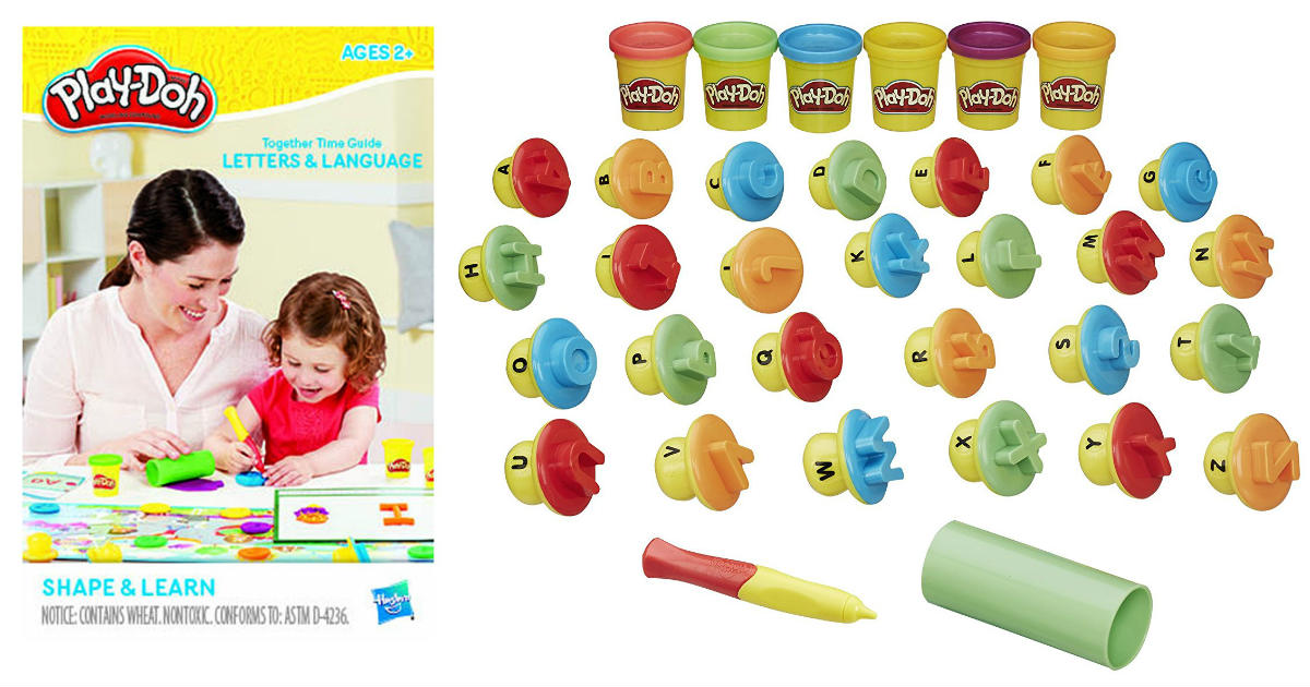 Play-Doh Shape and Learn ONLY.