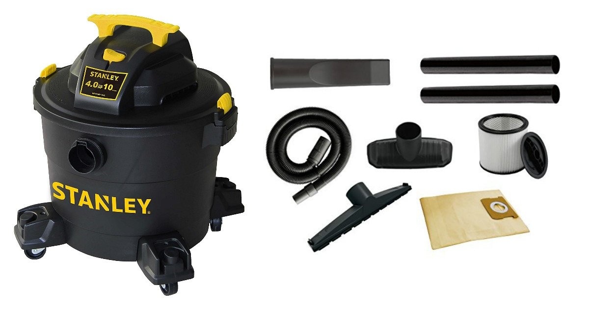 Save 40% on Stanley Wet/Dry Va...