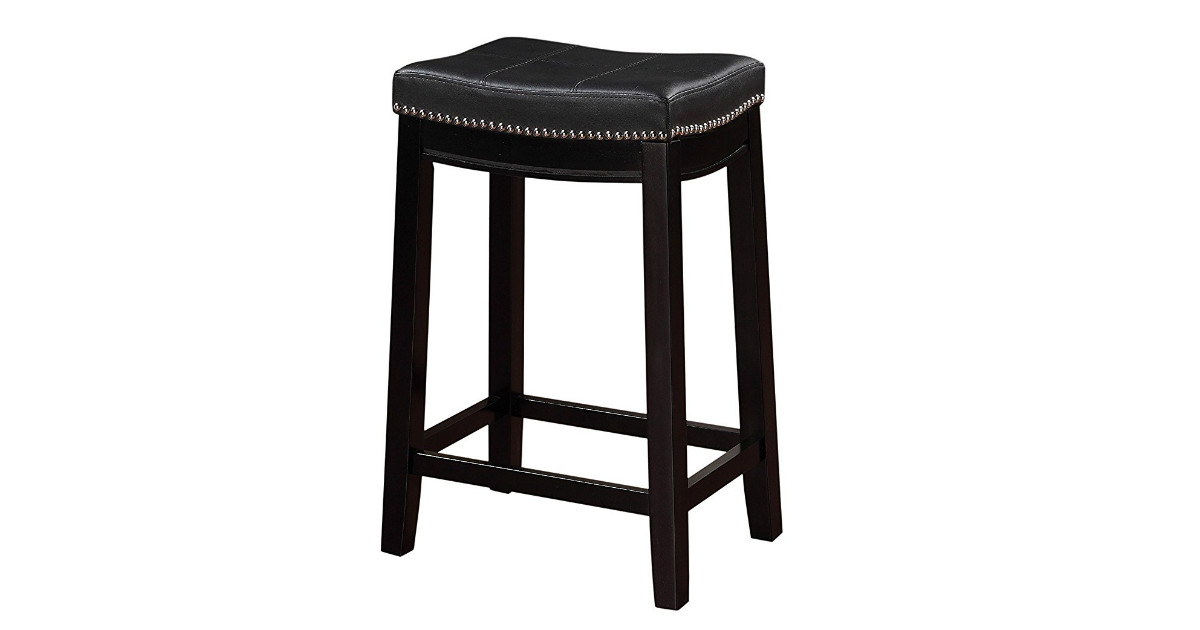 Save 46% on Linon Claridge Counter Stools Only $38.61 (reg. $71)