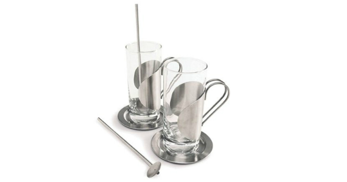 Save 50% on Cuisinox Coffee Glass Set: ONLY $15.53 (Reg. $31.37)