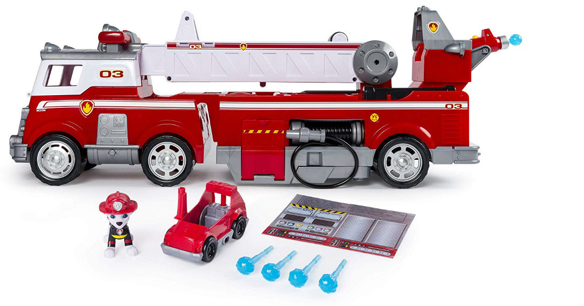 Best-Seller: Save $15.00 on Paw Patrol Fire Truck on Amazon