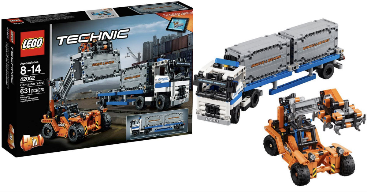 LEGO Technic Container Yard at Amazon