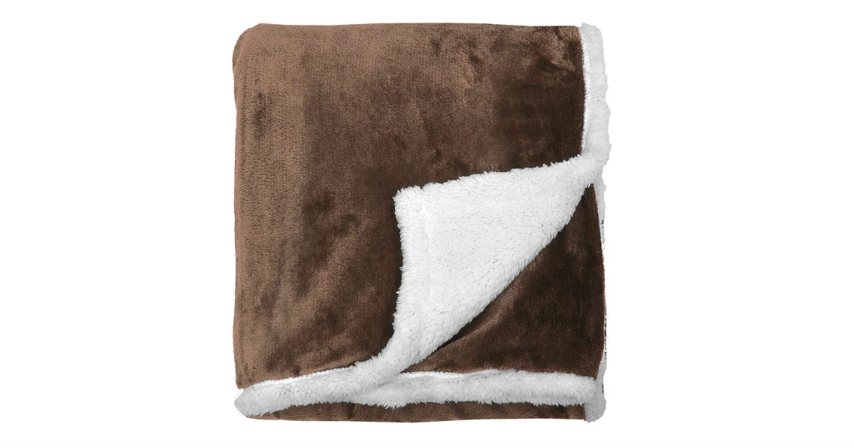 Save 65% on Sherpa Blankets ONLY $17.84 (Reg. $51)