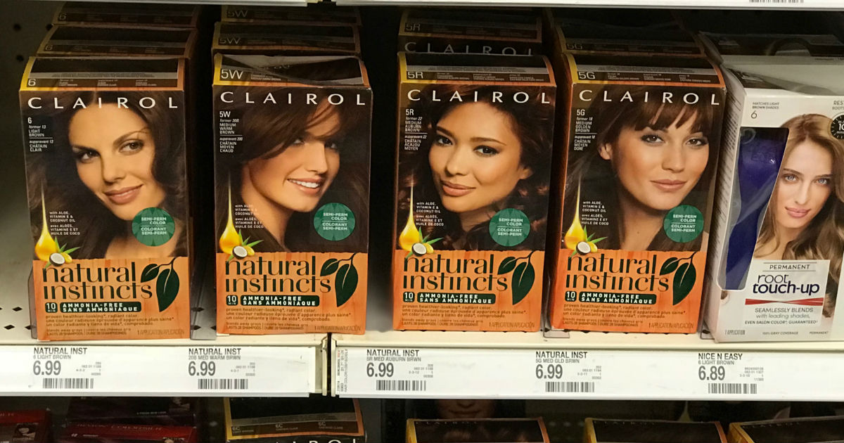 Clairol Natural Instincts Hair Color Only 032 At Target