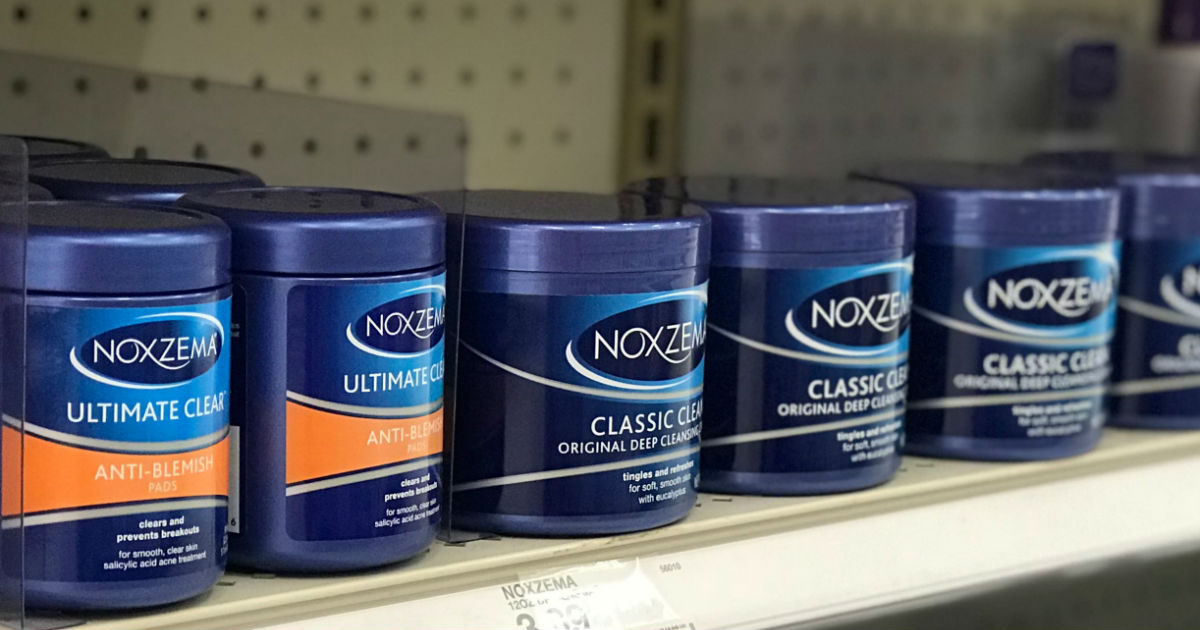 Noxzema Face Care ONLY $1.14 at Target (Reg $4)